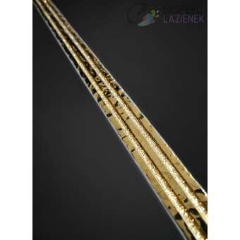 Listwa Dekoracyjna Złota 3x60cm Nirvana Oro Dune 186495
