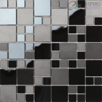 Mozaika Mix Czarna 30x30cm Matrix Dune 186382 Sklep