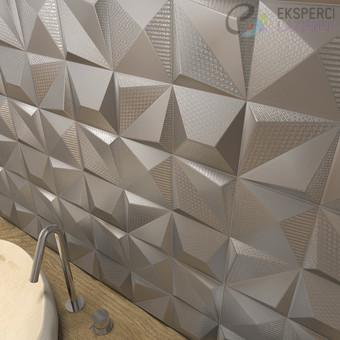 Płytka Dekoracyjna 25x25cm Shapes Multishapes Silver Dune