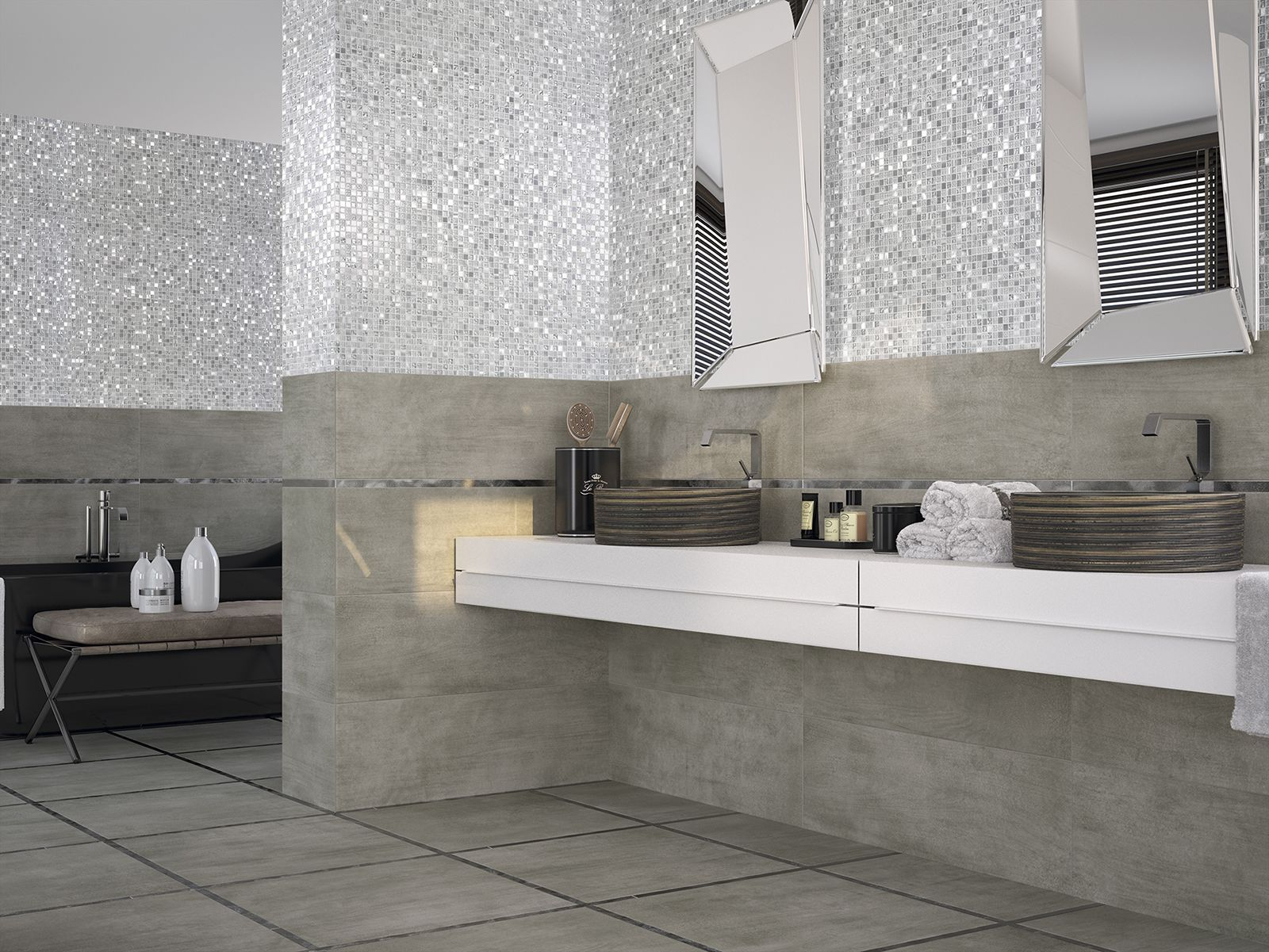 5 Sposobów Na Wykorzystanie Mozaiki Do Dekoracji łazienki